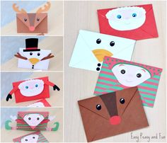 Christmas Printable Envelopes