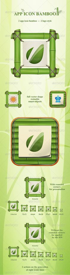 Icons - App Icon Bamboo |