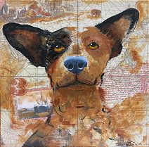 dog paintings by diana j smith