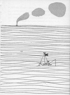 Stig Lindberg illustration.