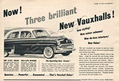 1954 Vauxhall Vauxhall Motors, The Bedford, Two Decades, Commercial Vehicle, Car Brands, Peugeot, Classic Cars, The Past, Old Things