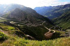 Gotthard Pass, Alps