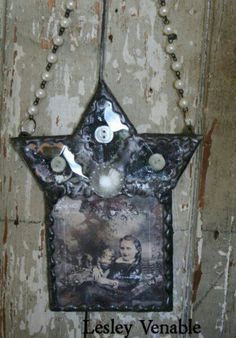 Iconic Shrines being taught by lesley venable in Petaluma and Nashville - Art Is You. Altered Tins, Altered Art, Nashville Art, Tin Art, Button Art, Industrial Chic, Sacred Heart, Mixed Media Art, Artsy Fartsy