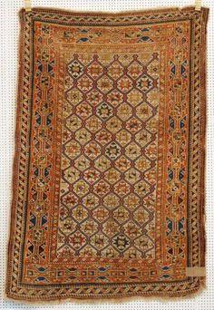 Schirwan, 19. Jh., 153 x 106cm, Zustand C/D