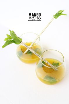 Photography: Krista Perez  Read More: http://www.stylemepretty.com/living/2014/04/25/mango-mojito/