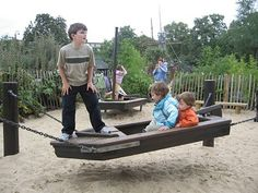 lady Di playground boat...love the look