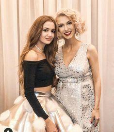 Iuliana with andreea balan Romanian Women, My Idol, Beautiful Women, Rainbow, Celebs, Formal Dresses, Instagram, Fashion, Womens Fashion