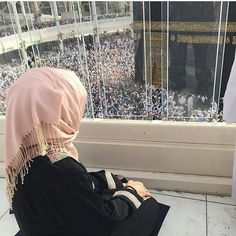 girl, muslim, and makka image