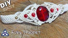 Macrame Bracelet with Beads Tutorial- Easy Jewelry Making