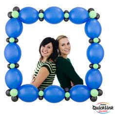 "Made with Quick Link Balloons, the ""Fashionable Frame"" would be a perfect photo prop or background for any party! Find a balloon professional near you: http://www.qualatex.com/balloons/findapro.php #balloon #balloondecor #balloonart #qualatex #photoprop"