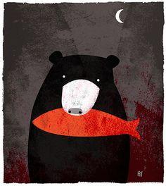Lours en une nuit goûter pour nos ours préféré. par HeidiYounger