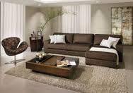 Image result for imagenes de salas con safas cafes y decoradas con aqua y beich