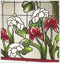 Best Paint for Glass | ... glass painting this method gives an embossed look to the painting