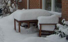 I december kan komma snö i Oxie, men inte varje år