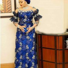 Top 35 Ankara dress style you should try this Year - Reny styles African Lace Styles, African Lace Dresses, Latest African Fashion Dresses, African Men Fashion, Africa Fashion, African Women, Nigerian Dress Styles, Ankara Dress Styles, African Attire
