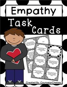 A comprehensive 105-card set to help students learn about empathy!