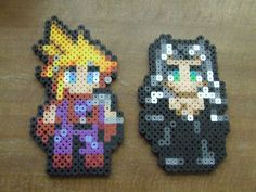 Cloud and Sephiroth Sp...