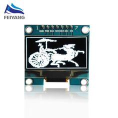 "10PCS SAMIORE ROBOT 1.3"" OLED module white  color SPI 128X64 1.3 inch OLED LCD LED Display Module 1.3"" SPI Communicate #Affiliate"