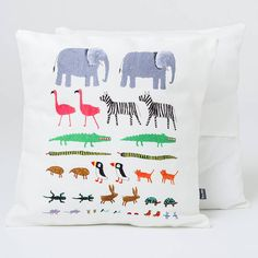 'Noah's Ark' Cushion