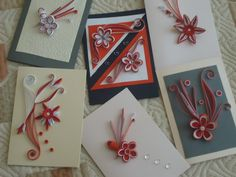 More Quilling in Red and White - by: Стела Николова-Bulgaria