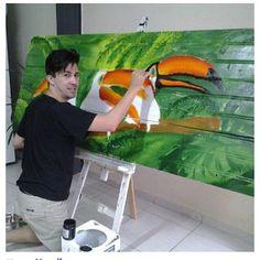 Gil Motta art em porta