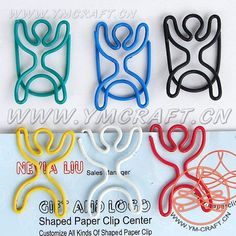 body Paper Clips Diy, Diy Paper, Creative Bookmarks, Stationery Pens, Le Jolie, Wire Crafts, Wire Art, Wire Wrapped Jewelry, Body Shapes