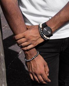 Bracelets For Men, Accessories, Jewelry, Jewellery Making, Guy Bracelets, Jewelery, Jewlery, Jewels