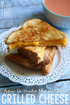 Clarissa — foodffs: HOW TO MAKE THE PERFECT GRILLED CHEESE ...