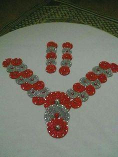 Col Crochet, African Accessories, Crochet Fashion, Crochet Clothes, Crochet Necklace, Kaftans, Deco, Inspiration, Lace