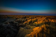 The Sun is Coming, Badlands National Park (by Digital_hh)