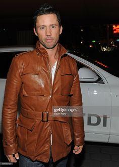 News Photo : Actor Jeffrey Donovan arrives to the Audi Golden... Audi Tdi, Globe News, Jeffrey Donovan, Golden Globes, West Hollywood, Still Image, Leather Jacket, Actors, Celebrities