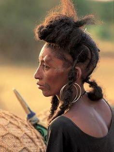Wodaabe women woman global people Wodaabe bororo Woodabe tribal Niger Africa.