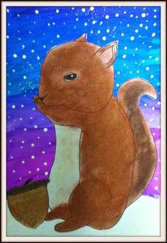 MaryMaking: Winter Squirrels II
