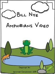 This product is intended to accompany Bill Nye's video on amphibians.  There are questions for students to answer while watching the movie and an answer key is included.  Other activities are also included.