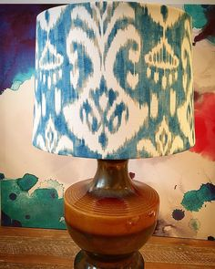 Ikat Print, Gorgeous Fabrics, Absolutely Gorgeous, Upcycle, Instagram, Home Decor, Products, Homemade Home Decor, Upcycling