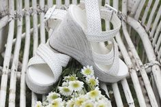 Barefoot Sandals, Bridal Shoes and Accessories for the Bohemian Bride Boho Wedding Shoes, Wedding Flats, Bridal Shoes, Bridal Jewelry, Chic Wedding, Dream Wedding, Bohemian Bride, Vintage Bohemian, Enchanted Garden Wedding