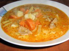 Magyaros levesek | Receptváros - receptek képekkel Thai Red Curry, Ethnic Recipes, Food, Eten, Meals