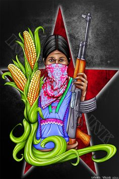 Zapatista Women by Denial616.deviantart.com on @deviantART