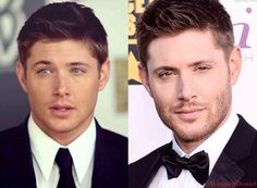 Jensen Ackles CCAs then/now #Supernatural #Cast holy shit I can't even decide which one is hotter.