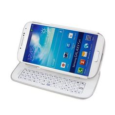 Lerway Detachable Wireless Bluetooth Keyboard Case with Backlight for Samsung Galaxy S4 i9500.