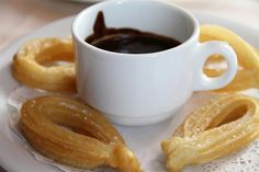 A to Z in Spain....... C is for Churros, one of the most typical breakfasts, to start the day with strenght!!