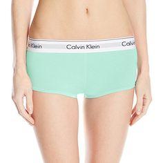Calvin Klein Women's Modern Cotton Short, Summer Pine, Small Calvin Klein http://www.amazon.com/dp/B00SHY7CUM/ref=cm_sw_r_pi_dp_kOYMvb0FGRP58