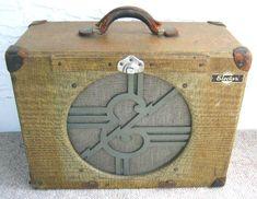 Vintage Epiphone tube amp = tone magic