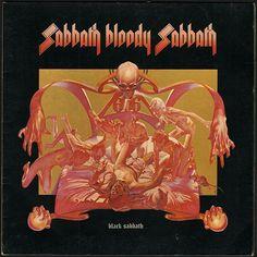"""Sabbath Bloody Sabbath"" by Black Sabbath, 'WWA' Records, LP, (1973) - Color Pencil & Acrylic On Board of Cover Artwork Illustration Album by Drew Struzan (b. 1947, American), Size: 30"" x 40"", Creative Director Ernie Cefalu  ~  [Final Work]."