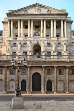 The Bank of England, Threadneedle Street, London - founded by act of Parliament, on the July, Bank Of England, England Uk, London England, East London, London City, English Architecture, Neoclassical Architecture, Banks Building, Europe Photos