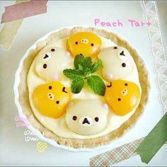 peach tart from http://pinterest.com/pin/565061084466575999/