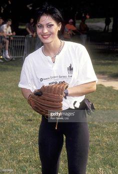 Actress Joan Jett attends the The Women in Film's Fourth Annual Celebrity Softball Game on June 17 1991 at Central Park in New York City Joan Jett, Music Girl, Sandy West, Cherie Currie, Frankie Magazine, Pat Benatar, Lita Ford, Park In New York, Janis Joplin