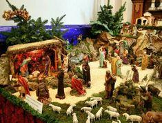Belenes o Nacimientos de Navidad 2011 Christmas Village Display, Christmas Villages, Christmas Nativity, Christmas Crafts, Christmas Ornaments, Christmas Scenes, Christmas Holidays, Fontanini Nativity, Mexican Christmas