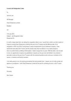 How to write a heartfelt and formal Job Resignation Letter? We provide a perfectly written Job Resignation Letter that fits your needs! Formal Resignation Letter Sample, How To Write A Resignation Letter, Letter Writing Examples, Formal Letter Writing, Business Letter Template, Letter Templates, Job Interview Tips, Interview Questions, Job Interviews