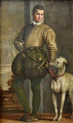 Boy with a Greyhound - Paolo Veronese